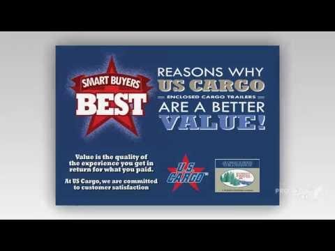 US Cargo Enclosed Cargo Trailers Features!!