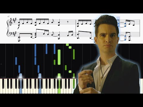 Panic! At The Disco - Say Amen (Saturday Night) - ADVANCED Piano Tutorial + SHEETS