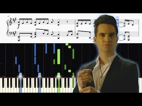 Panic! At The Disco - Say Amen (Saturday Night) - ADVANCED Piano Tutorial + SHEETS
