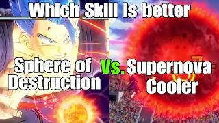 Dragon ball Xenoverse 2 Skill Test Supernova Cooler Vs. Sphere of Destruction