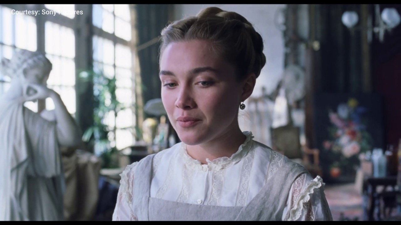 When the dresses from Little Women (2019) didn't have voluminous skirts. It also lacked the high waistlines like the ones from 1865 and were far too casual.