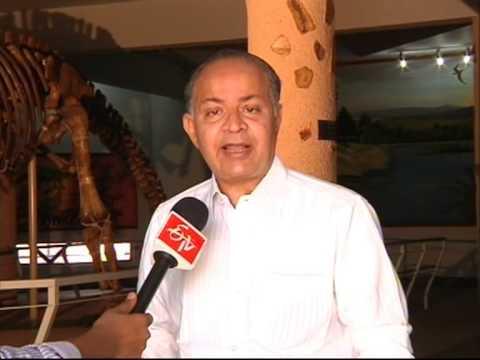 Dinoser in Birla Science Centr Director Interview Etv2 Jupalli Ramesh