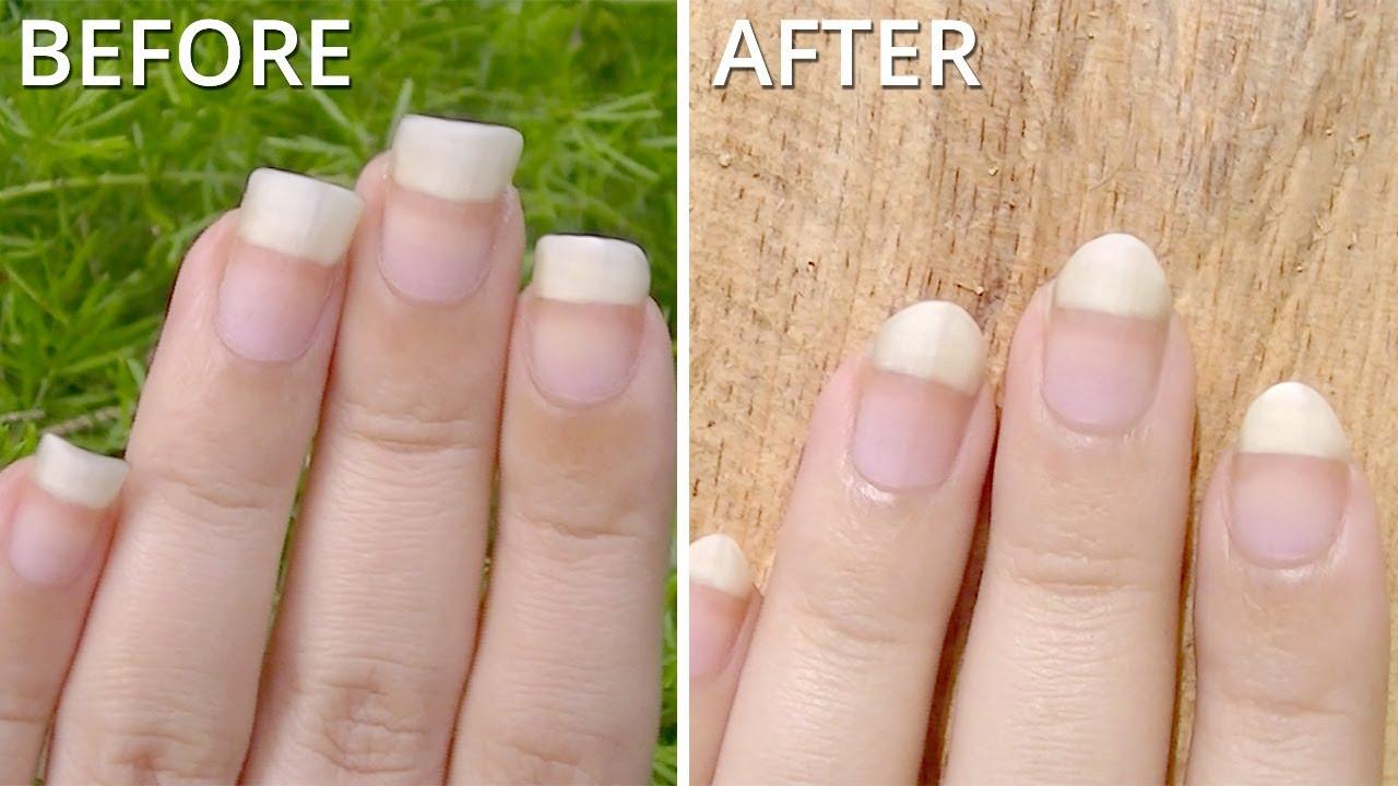 Oval Nails Shape