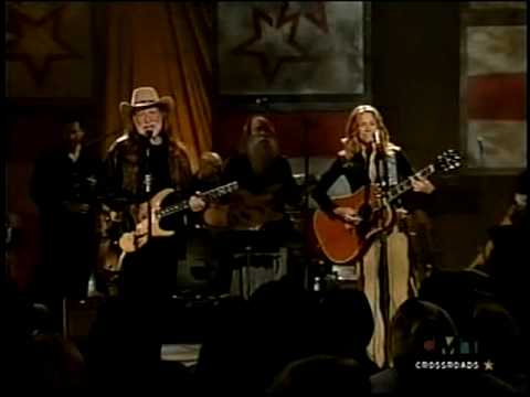 Jackson - Willie Nelson and Sheryl Crow - live 2002