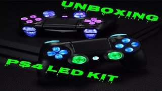 ExtremeRate PS4 Controller DTFS Led Kit Unboxing (2020)
