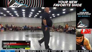 Mat 13 160 Dontae Johnson Tennessee 1 Vs Koby Ho Pennsylvania