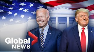 US election: Trump claims victory, Biden urges patience as race still too close to call | FULL