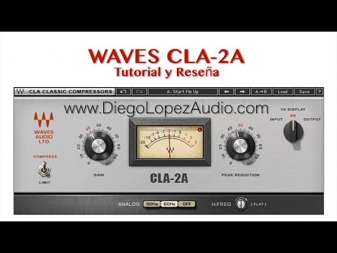 tutorial cla vocals de waves como procesar la voz con doovi. Black Bedroom Furniture Sets. Home Design Ideas