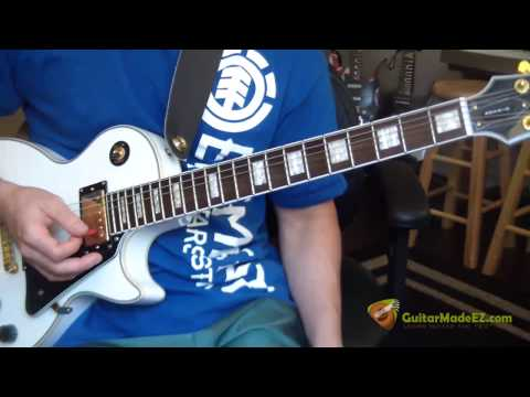 The Ramones - Blitzkrieg Bop - Guitar Lesson (INSANELY EASY and CORRECT!)