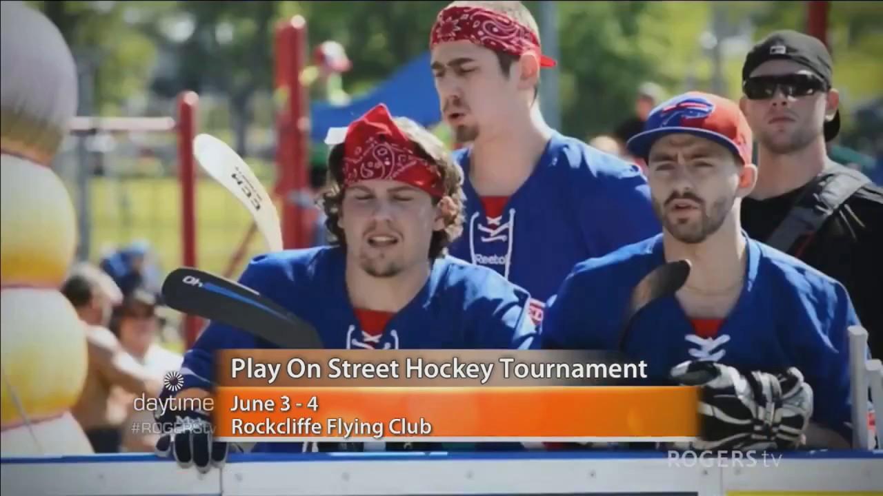Play On Street Hockey Tournament Comes To Ottawa Youtube