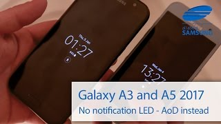 Samsung Galaxy A3 and A5 2017 notification LED missing ENG 4k