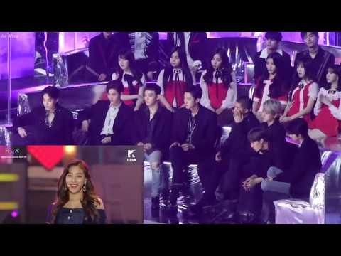 Exo Reaction Twice Likey @ MMA 2017