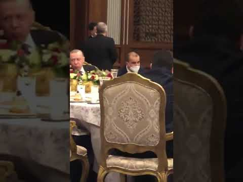 Cumhurbaşkanlığı Sarayı'nda sazlı sözlü yemek!