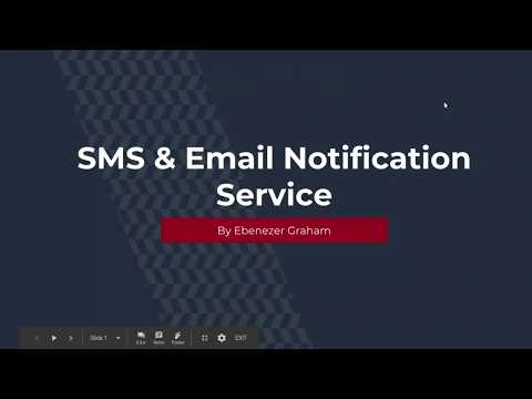 GSOC 2018 Screencast - Fineract CN SMS/Email Microservice