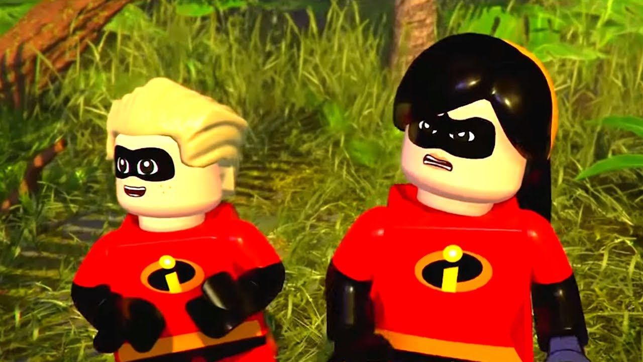 LEGO THE INCREDIBLES 2 All Cutscenes Full Movie - YouTube