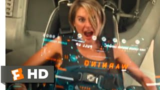 The Divergent Series: Allegiant (2016) - Stealing the Hovercraft Scene (6/10) | Movieclips