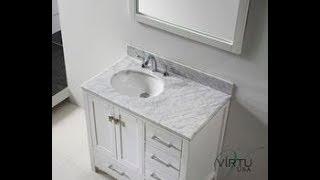 Small White Bathroom Vanity