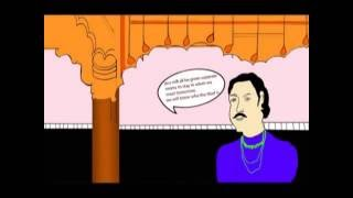 Akbar and birbal [short comic strip]