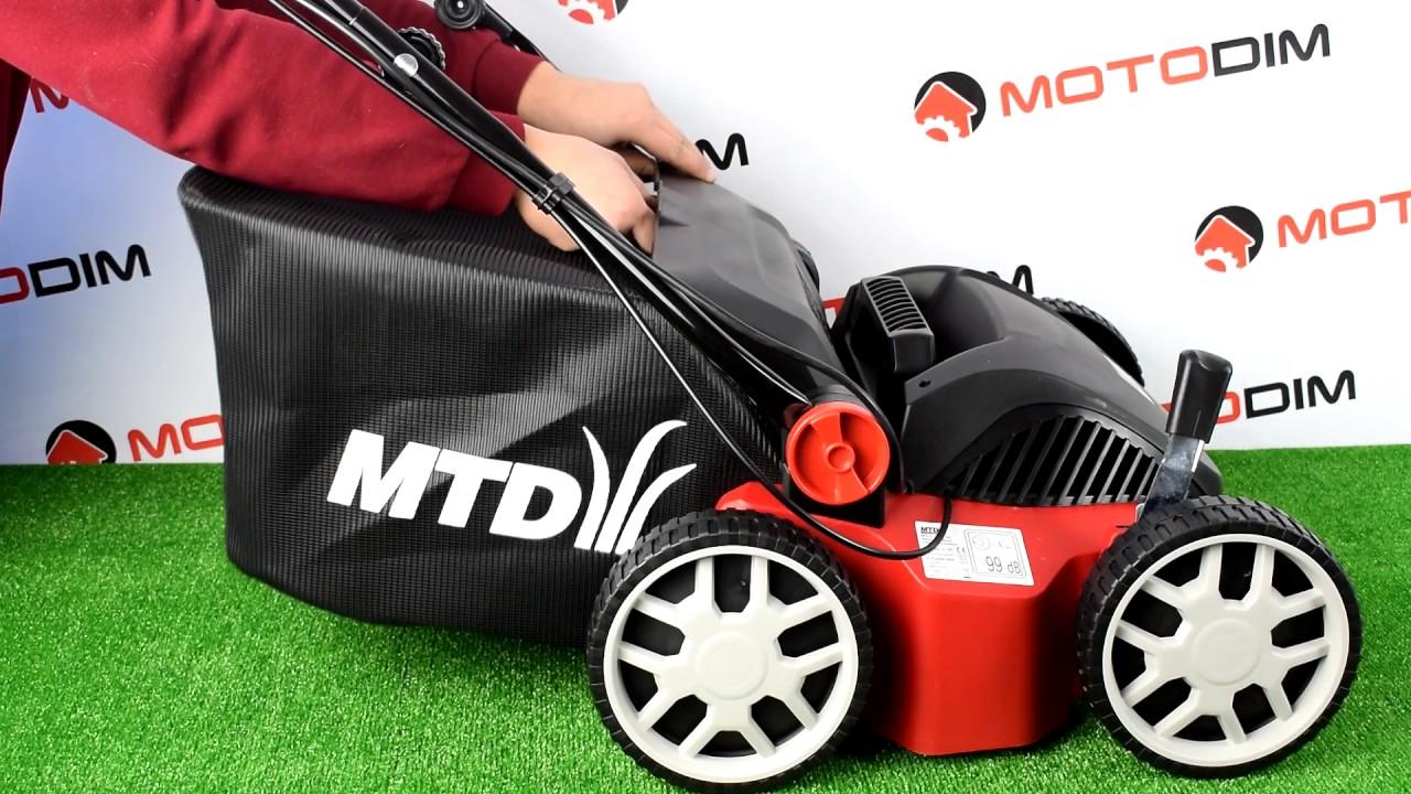 MTD Optima 37 VE Vertikutierer