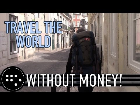 IS IT POSSIBLE TO TRAVEL WITHOUT MONEY? Part 1 - Cards and Couches