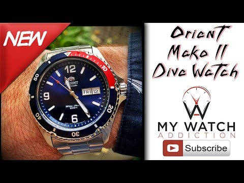 Orient Mako II Pepsi - Cheap Dive Watch Review
