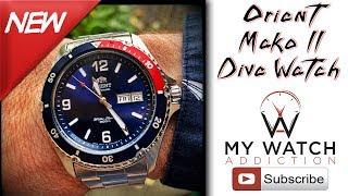 Orient Mako II Pepsi - Cheap Dive Watch Review
