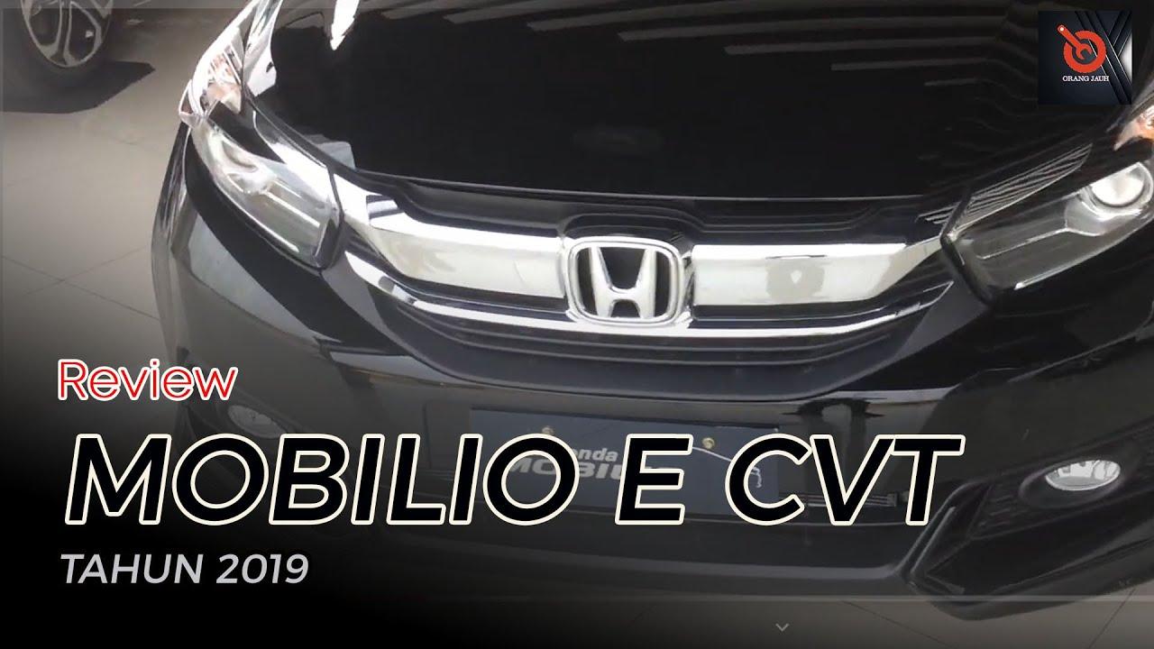 Review Honda Mobilio E CVT 2019 - YouTube