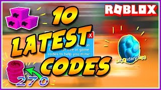 FREE 270 REBIRTH TOKEN CODES | ROBLOX MINING SIMULATOR| LATE JULY UPDATE!!!