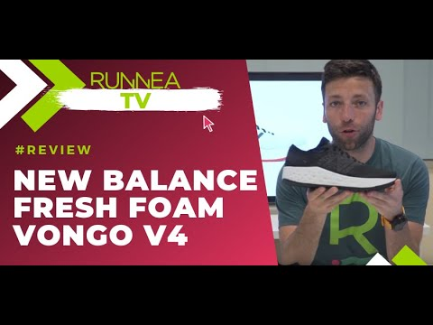 Review New Balance Fresh Foam Vongo v4 I Zapatillas de pronación
