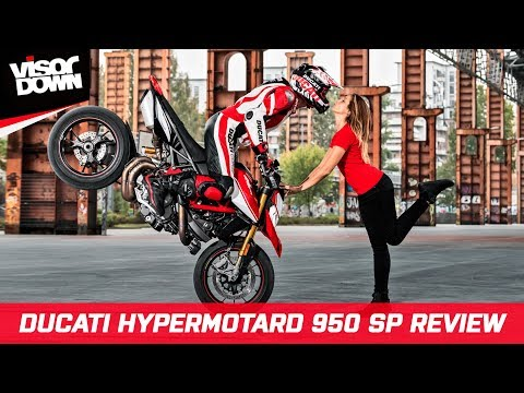 Ducati Hypermotard 950 SP 2019 Review - Naked bike / Supermoto