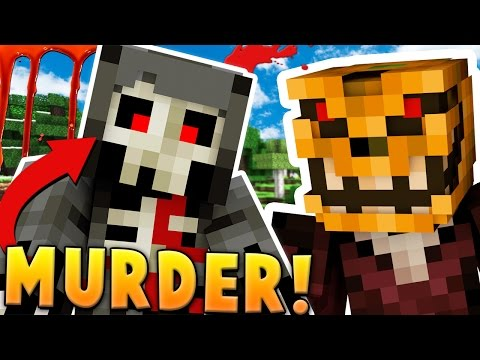 CRAZY LUNATIC KILLER ON THE LOOSE - MINECRAFT MURDER MYSTERY