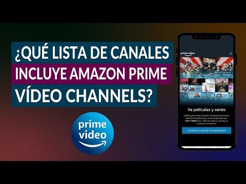 ¿Qué Lista de Canales Incluye Amazon Prime Video Channels? ¿Hay Canales de HBO?