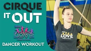 Video 12-Minute Workout with a Dancer from The Beatles LOVE & Olympian Laurie Hernandez! Cirque It Out #3 download MP3, 3GP, MP4, WEBM, AVI, FLV Juli 2018