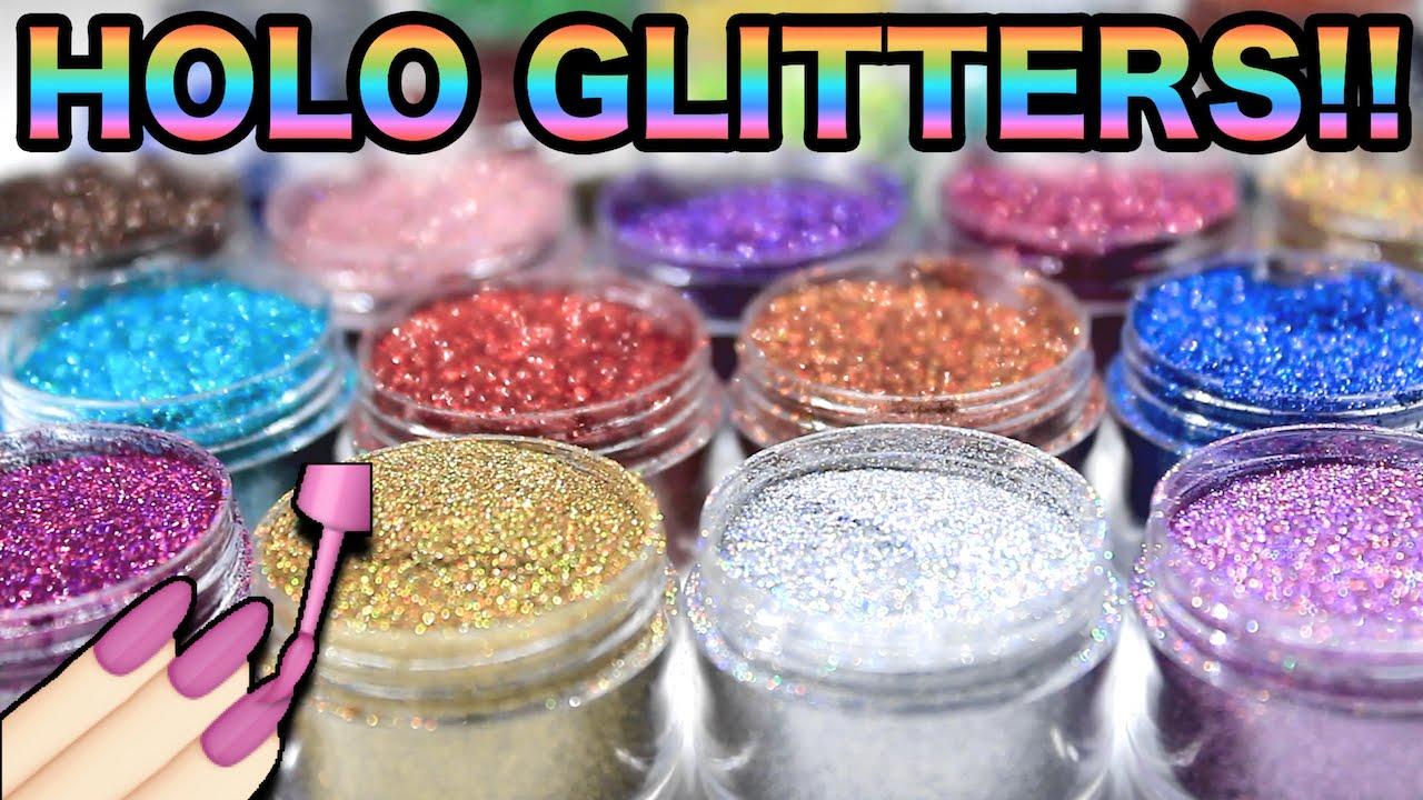 Holo Nail Nailart Glitters Lication Ultra Fine We Heart Nails Uk You