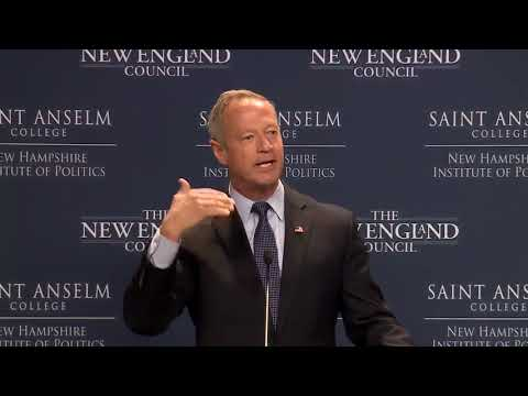 Full video: Martin O'Malley delivers remarks at 'Politics an