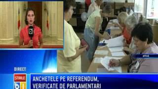 Senatorii USL au infiintat o comisie de ancheta a procurorilor care ancheteaza fraudele referendum