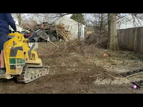 How To Remove A Brush Pile?