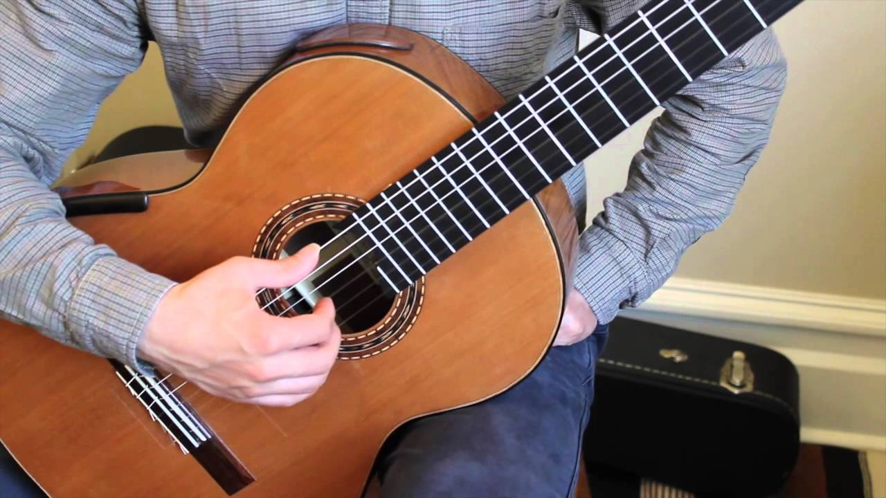classical guitar finger exercises pdf