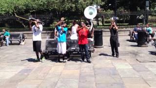 NOLA Brass Band Street Musicians