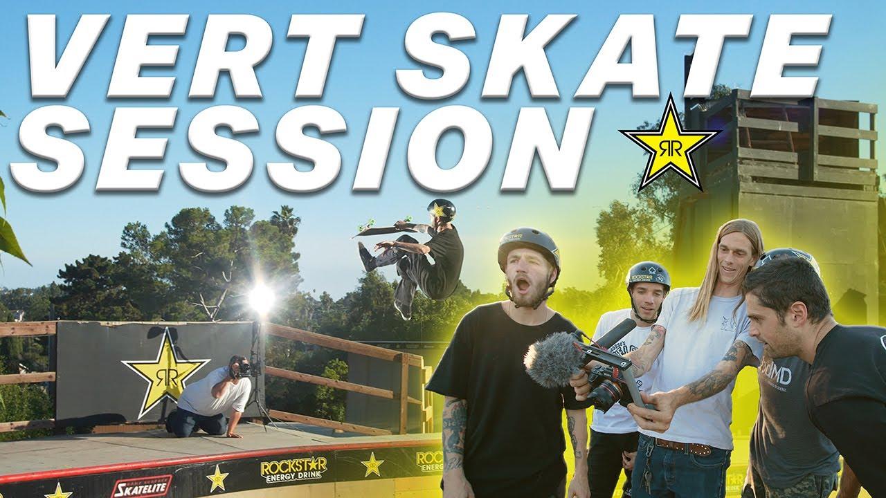 Vert Skate Session