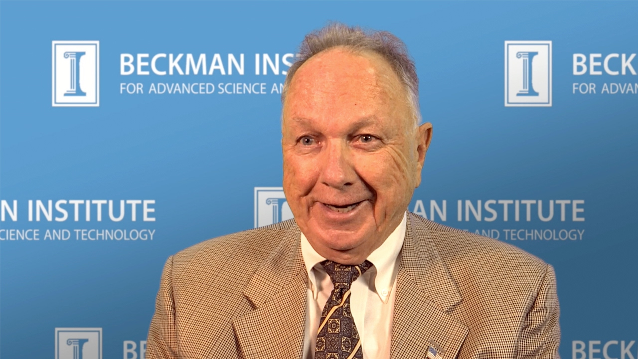 Watch Oral Histories: Arnold Beckman, Ted Brown, and the Beckman Institute (Gallwas)
