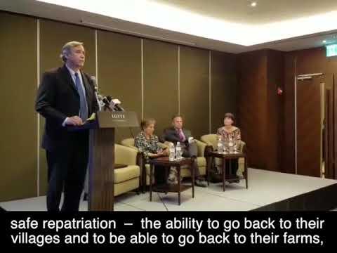 Merkley Calls on Burma to Repatriate Rohingya and Resolve Humanitarian Crisis