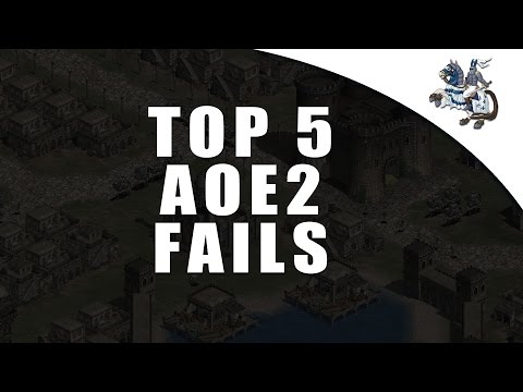 Age of Empires 2 Top 5 Fails