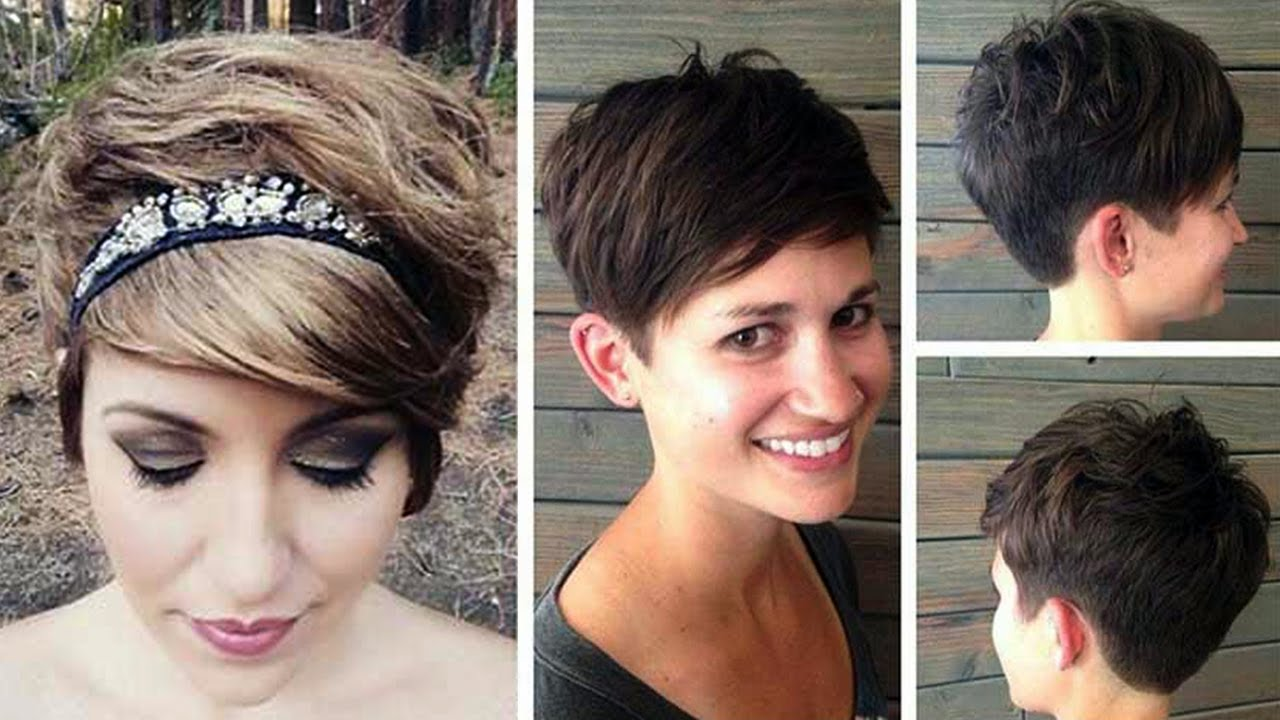 Classy Short Haircuts And Hairstyles For Women 2017 2018 Youtube