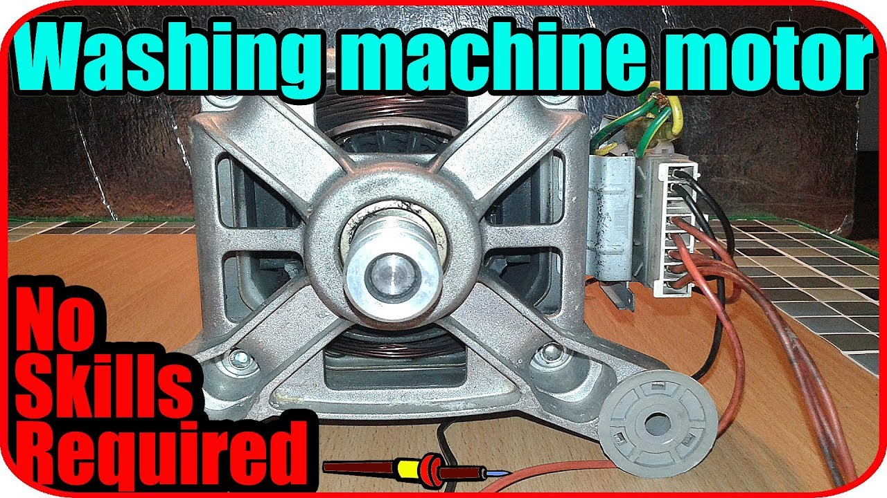 washing machine motor wiring connection youtube rh youtube com