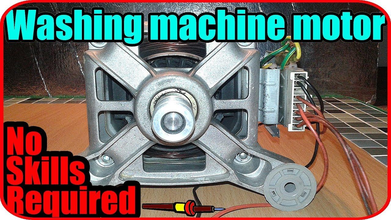Washing Machine Motor Wiring Connection