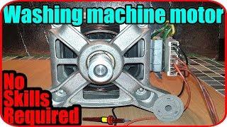 Washing Machine Motor Wiring Connection Youtube