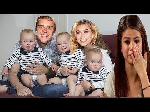 Real! Hailey Baldwin dio a luz a tres hijos, Justin Bieber estaba feliz por esta sorpresa para él.