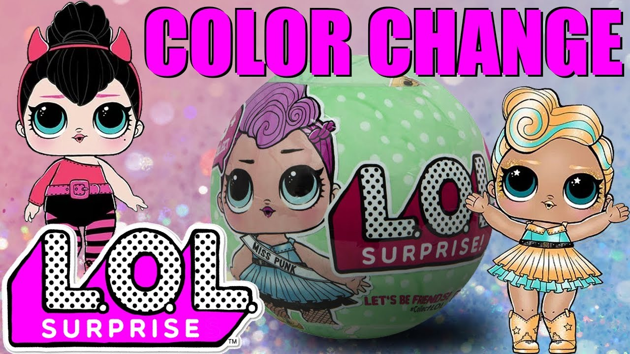 Lol Surprise Collection La Mia Collezione Di Lol 1 Color