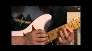 Lick #3 - G Mixolydian tapping sequence